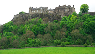 A castle on the way to Glasgow