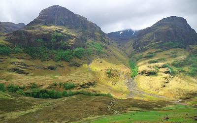 Day 18 Glasgow, Loch Lomond, Ben Nevis, Skye