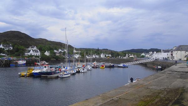 Kyleakin on the Isle Of Skye