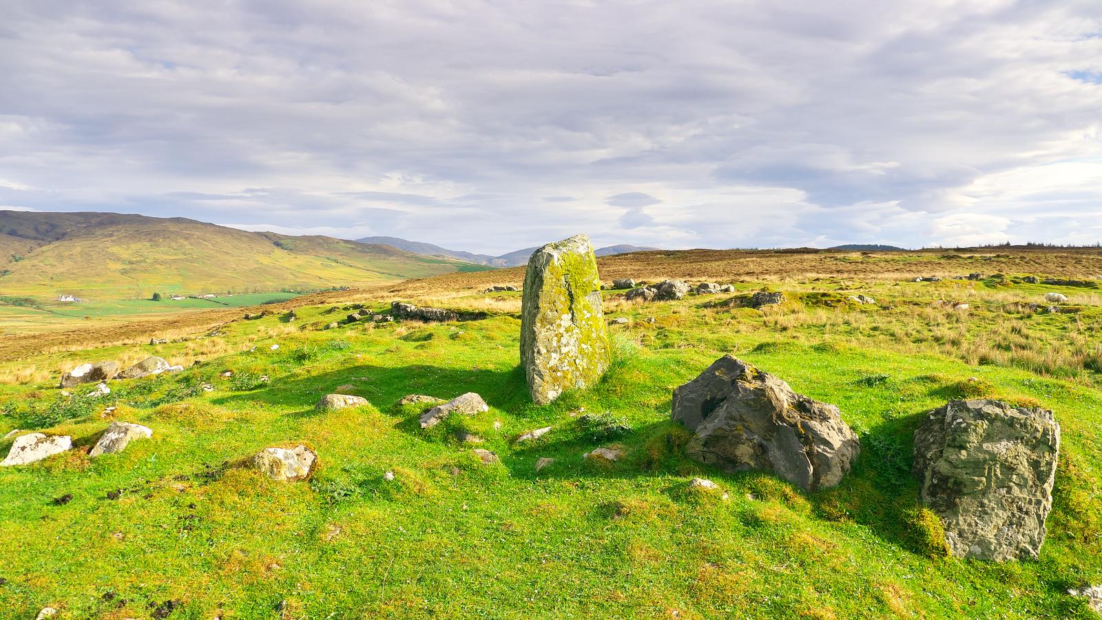A standing stone (Clach na h-Annait)