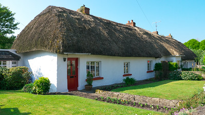 Thatched cottage in the village of Adare