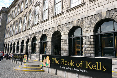 Trinity College Library, home of the Book of Kells