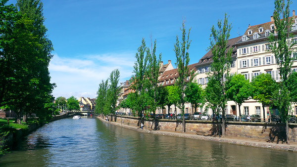 Canals in Strasbourg