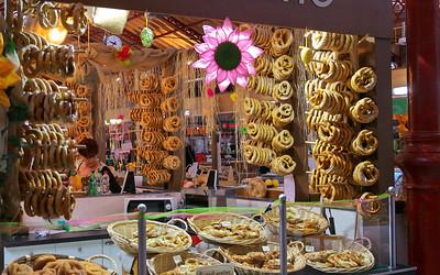 Fresh Pretzels at the Covered Market