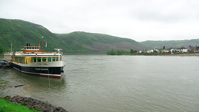 River Queen at dock in Boppard