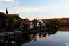 along Saale river