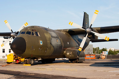 German Air Force C-160D Transall (50+99; cnD136) of LTG61, now preserved at Speyer.