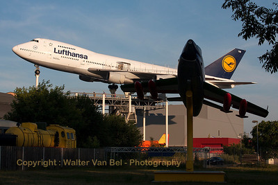 "Lufthansa Boeing 747-230B (D-ABYM) preserved at the ""Technik Museum Speyer""."
