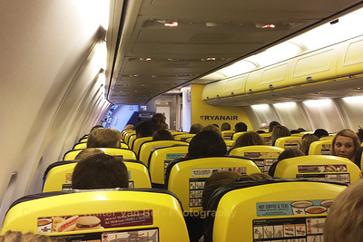 "On board flight ""FR3223""... [shot with Samsung S4]"