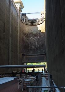 Lock number 2: Barragem do Carrapatelo