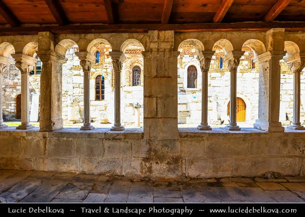 Europe - Albania - Apollonia - Apolonia - Church of Saint Mary - Traditional Orthodox Church within Historical Monastery