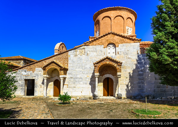 Europe - Albania - Apollonia - Apolonia - Church of Saint Mary - Traditional Orthodox Church within Historical Monastery