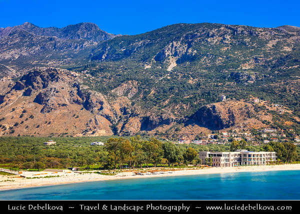 Europe - Albania - Vlorë County - Albanian Riviera - Upper Queparo - Historical village situated on western slope of Mount Gjivlash, at about 450 metres (1,480 ft) above sea level
