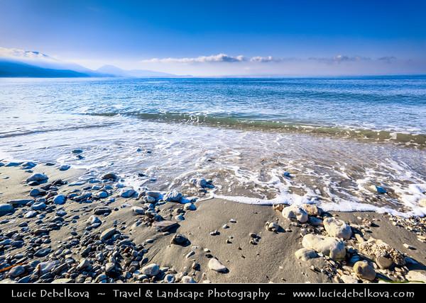 Europe - Albania - Vlorë County - Albanian Riviera - Queparo - Seaside village on coast of Adriatic & Ionian Sea, northernmost arm of Mediterranean Sea