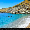 Europe - Albania - Vlorë County - Albanian Riviera - Himare - Llamani Beach on coast of Adriatic & Ionian Sea, northernmost arm of Mediterranean Sea