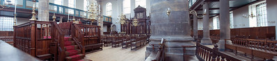 Another panorama of the Portuguese Synagogue in Amsterdam