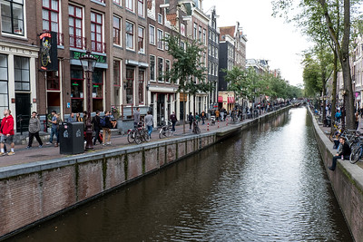 Canal In The Red Light District