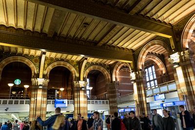 Inside Centraal Station