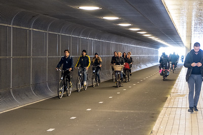 Bikes In The Underpass
