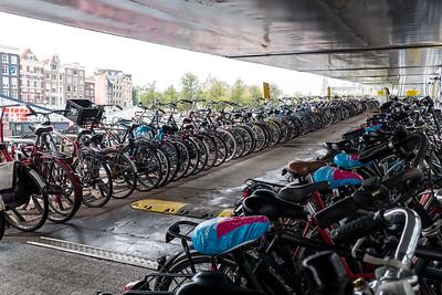 Bikes At Centraal Station