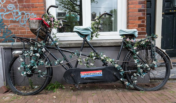 An Amsterdam Bicycle For Two