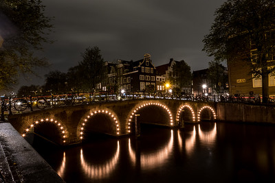 Canal Bridge At Herengracht