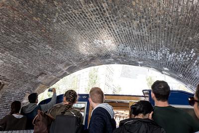 Passing Under A Bridge