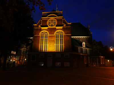 The Noorderkerk (North Church) At Night