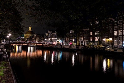 Canals & Bridges At Night