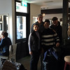 Marsha, Todd, Robin and Michael, in the Pat Cohan Bar, in Cong.