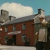 Clarke's, in a scene where Sean Thornton (John Wayne) gets off the buggy after arriving in Inisfree (Cong) from Castletown.