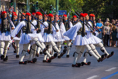 Evzones of the Presidential Guard