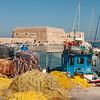 Fishermen in the Heraklion Crete port