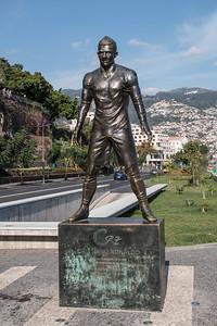 Statue of Ronaldo