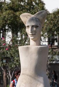 Promenade statue