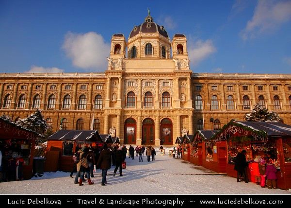 Europe - Austria - Österreich - Vienna - Wien - Museumsquartier - Maria Theresien Platz - Maria Theresia Park square - Museum complex where the royal art collections where displayed together
