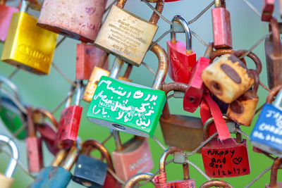 Love Locks, Mozart Bridge