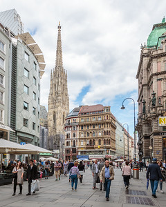 Grabenstrasse and St. Stephen's Cathedral