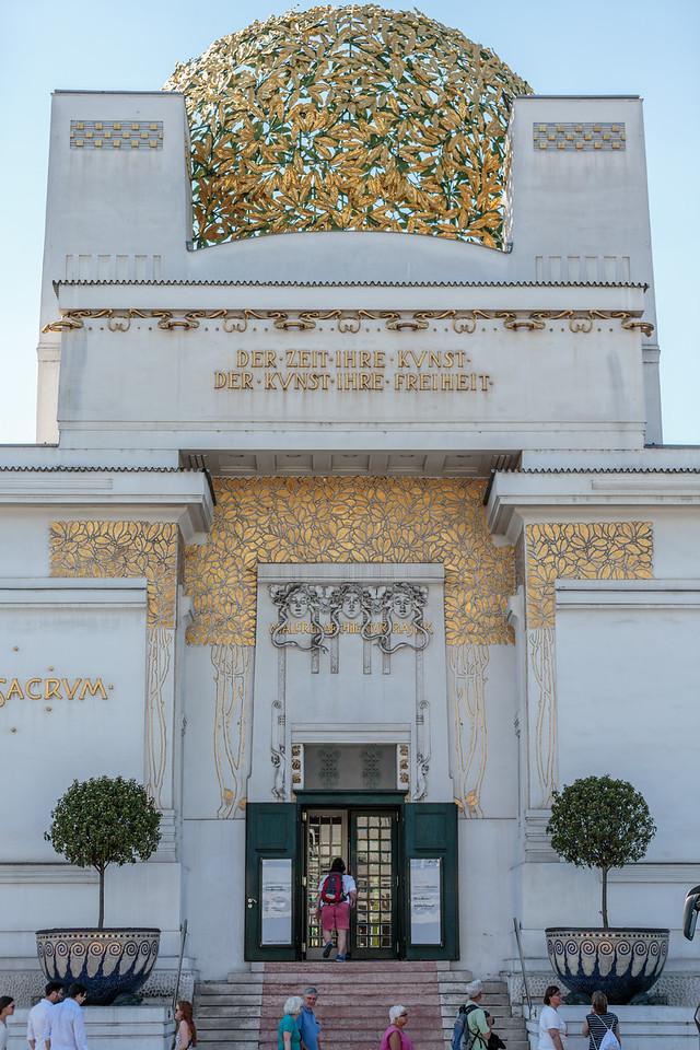 Entrance, Secession Building
