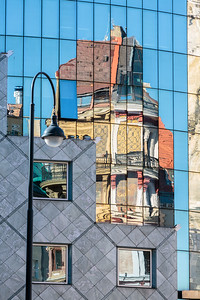 Stephansplatz Reflection