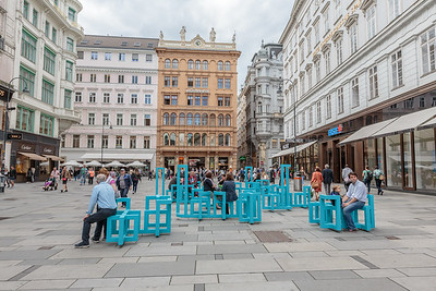 Blue Seating, Gabenstrasse