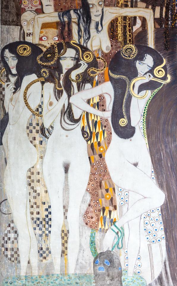 Alphonse Mucha Mural, Secession Building