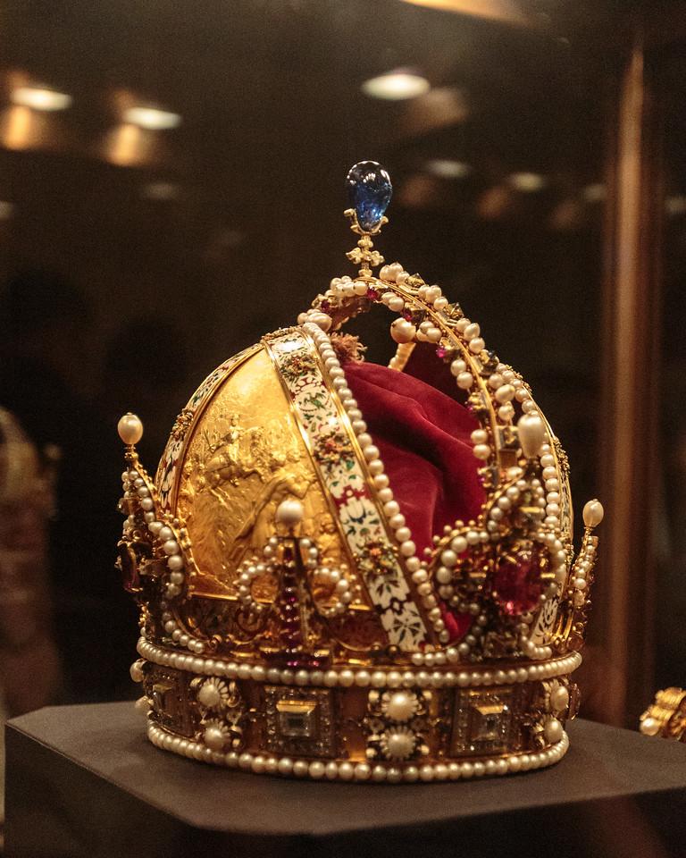 Austrian Emperor's Crown, Imperial Tresury