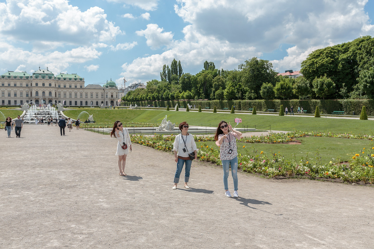 Belvedere Gardens and Palace