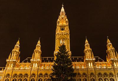 Vienna Rathaus - Christmas Season