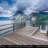 Europe - Austria - Österreich - Upper Austria - Salzkammergut - Traunkirchen - Traunsee Lake in Austrian Alps
