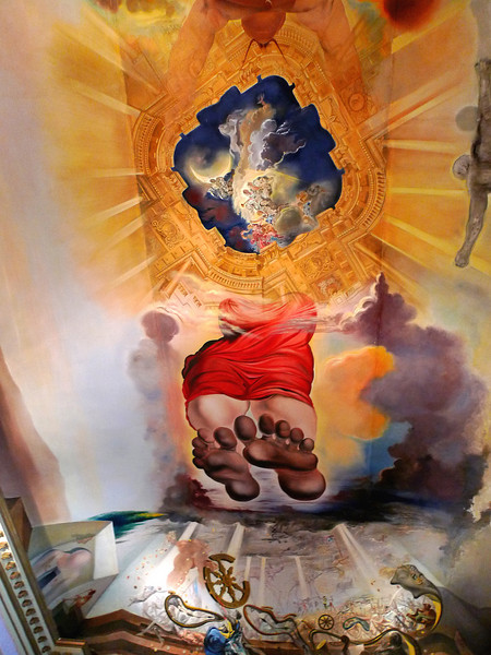 fresco @ Teatre Museu Dali, Figueres