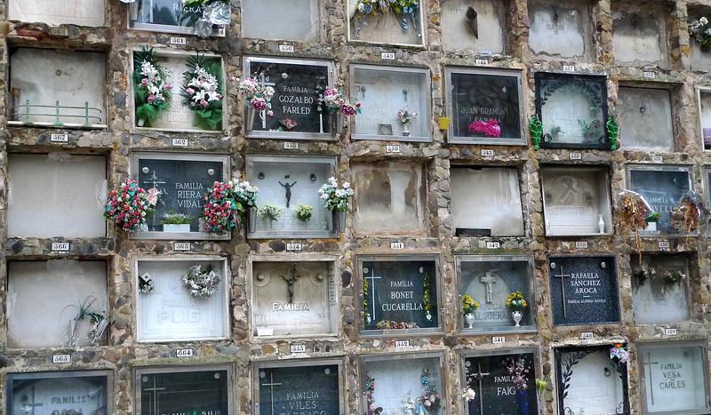 Barcelona's Cemetery on Montjuic