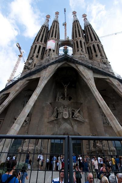 LaSagrada Familia-Gaudi's cathedral