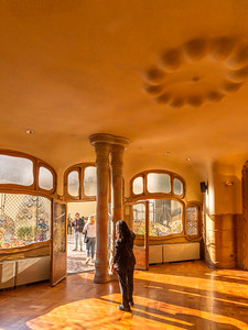 Casa Batlló: the dining room?